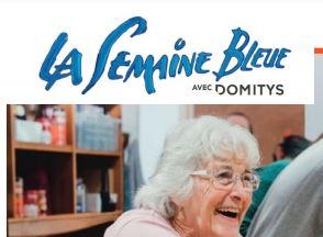 LA SEMAINE BLEUE chez DOMITYS